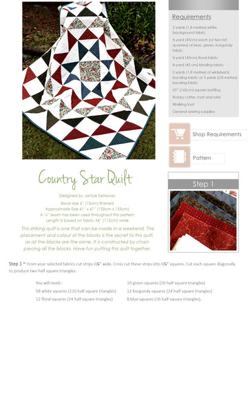 Kindred Stitches Magazine - Creating Country