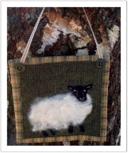 Woolly Sheep Hanger