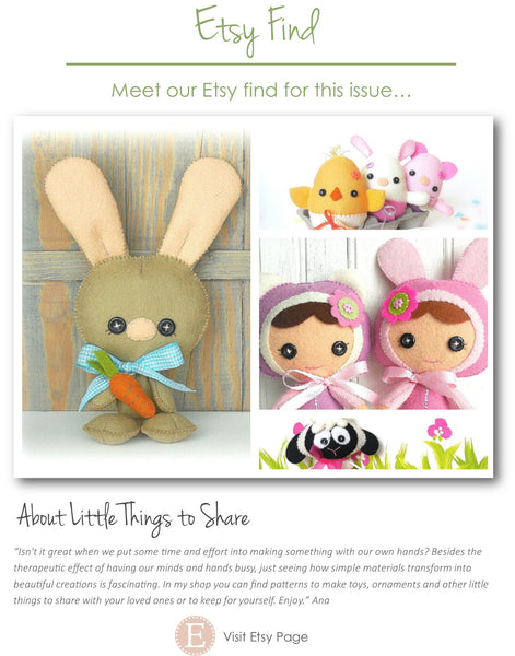 Kindred Stitches Magazine - Easter
