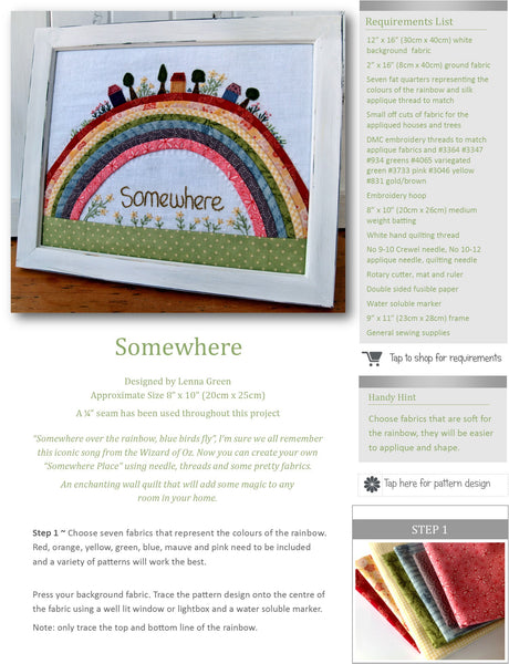 Kindred Stitches Magazine - Rainbows and Rainy Days