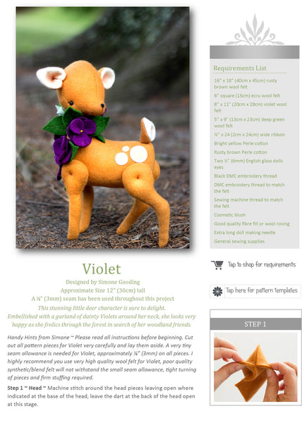 Kindred Stitches Magazine - Fun with Felt