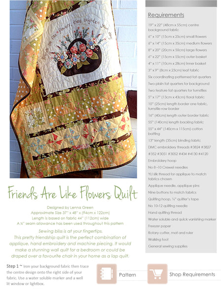 Kindred Stitches Magazine - Friendship