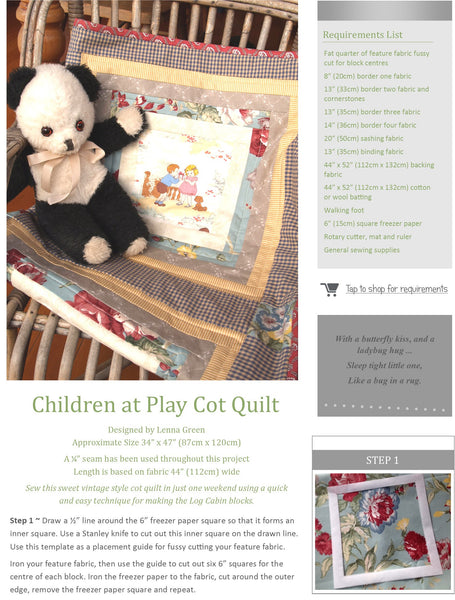 Kindred Stitches Magazine - Vintage Childhood Memories
