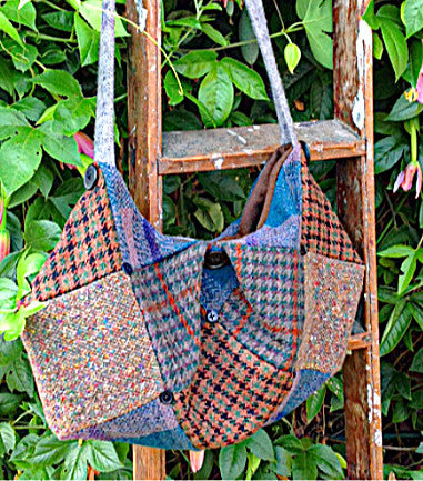 wool tote bag pdf pattern