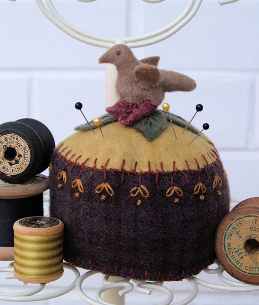 Birdie Pincushion in Felt