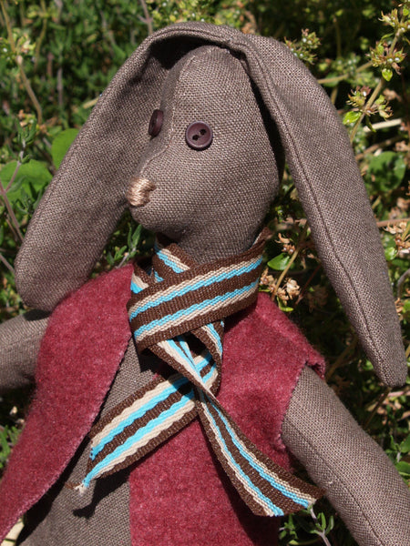 softie brown bunny pattern