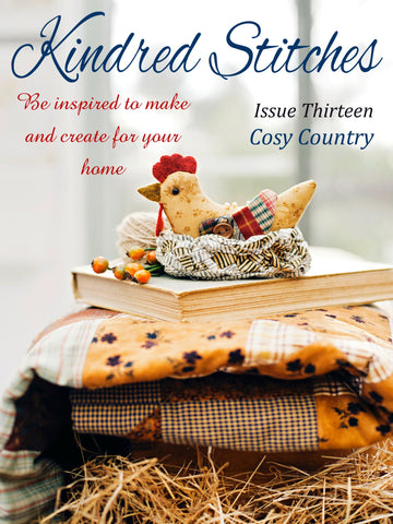 Kindred Stitches Magazine - Cosy Country