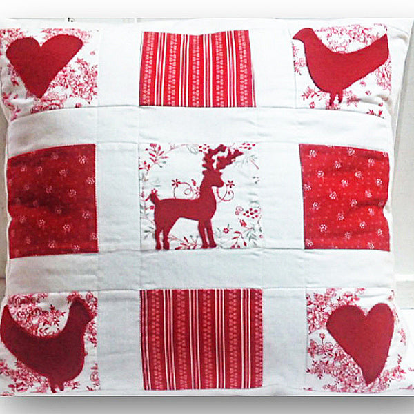 Christmas cushion pattern