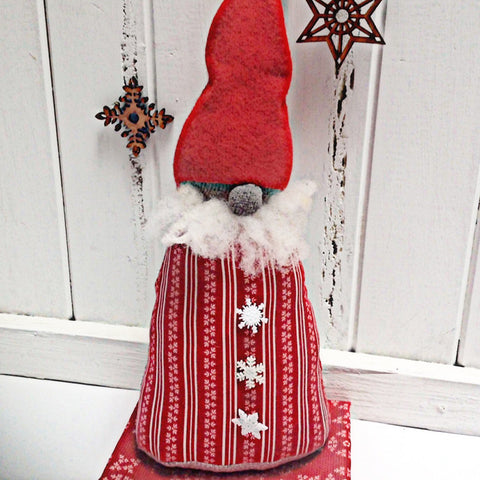 Christmas Door Stop Gnome