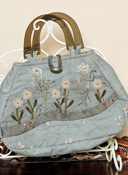 Daisies in Blue Bag