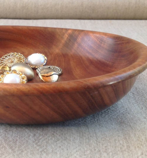 Shallow Timber Dish