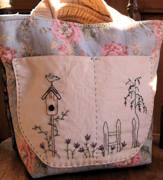 Embroidered Sewing Bag