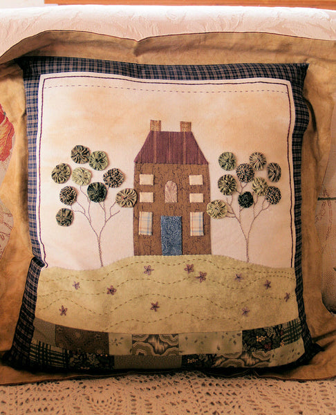 appliqued cushion pattern