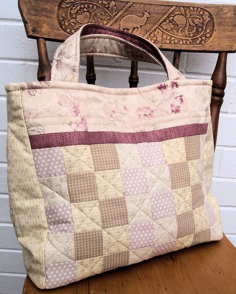 patchwork bag pattern back