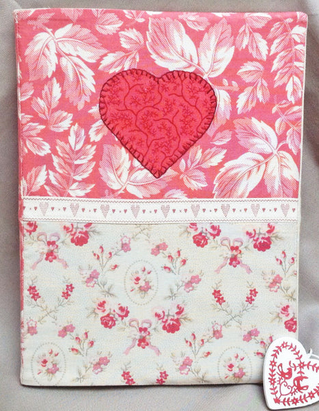 Love Letters from the Heart Fabric Journal Pattern