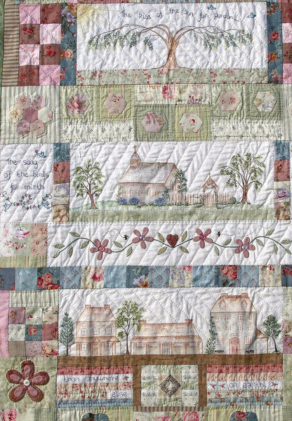 block of the month quilt pattern centre