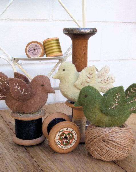 Little Felt Birdies