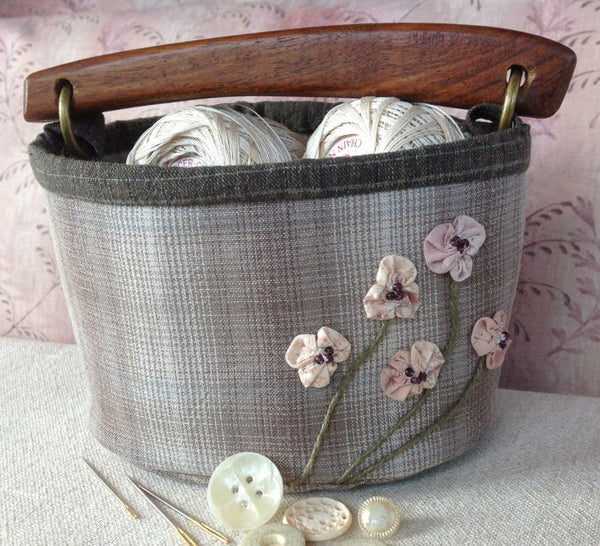 Cherry Blossom Fabric Box pattern