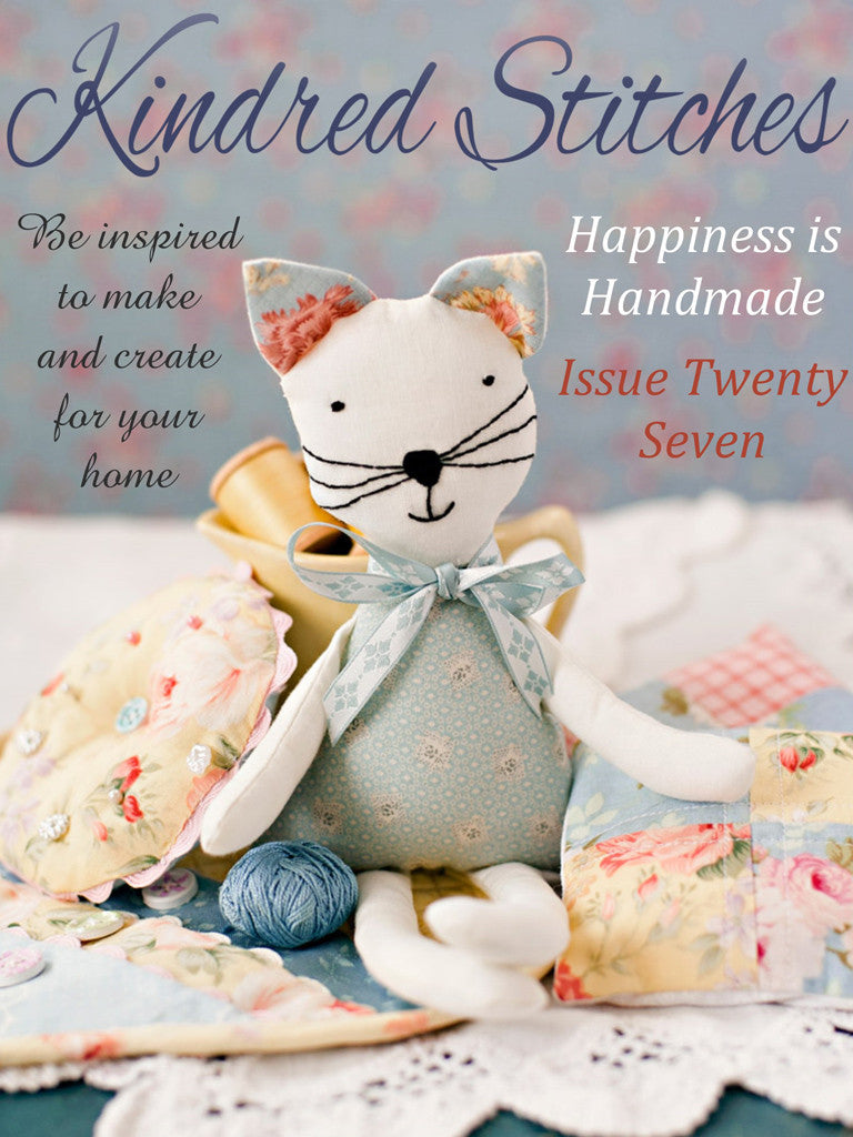 Kindred stitches magazine happiness is handmade stitching cow digital craft sewing quilting magazine jeuxipadfo Images