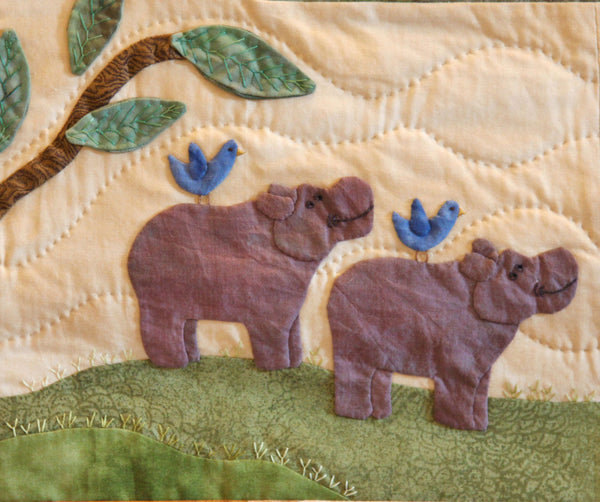 Noahs Ark Block of the Month Quilt pdf Pattern Set