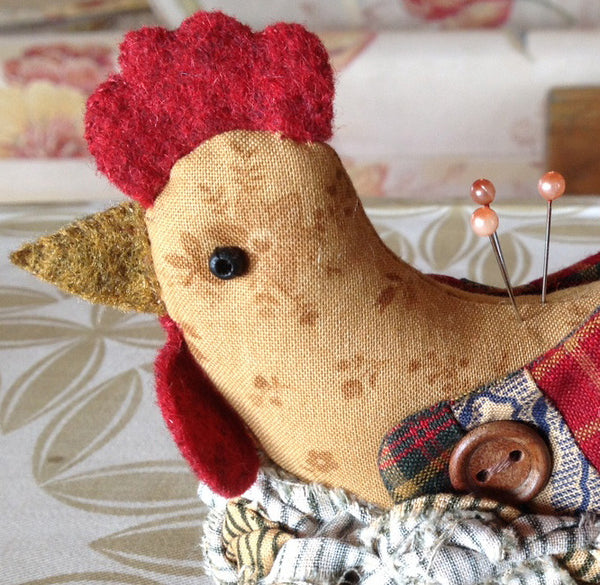 Mother Hen Novelty Pincushion