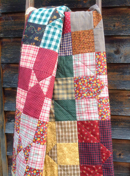 Country Nine Patch Quilt