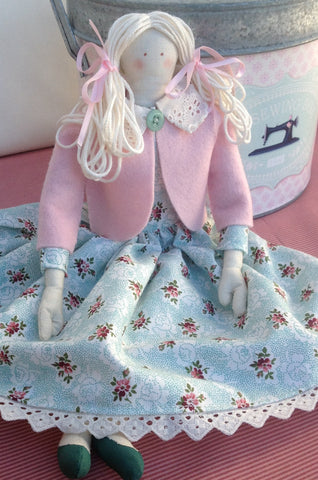 cloth doll pdf pattern