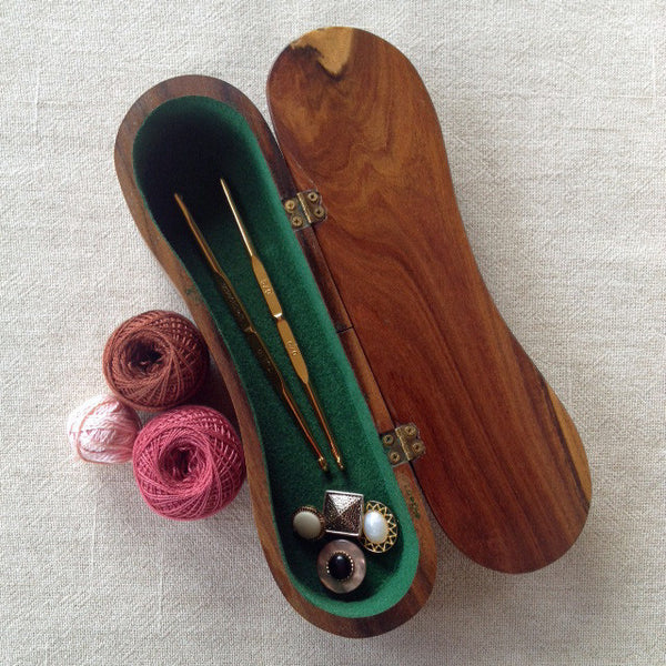 Handcrafted Timber Trinket Box with Hinged Lid