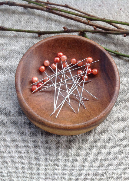 handcrafted timber pin dish