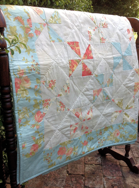 Pinwheel Quilt for Katie Pattern and Fabric Kit
