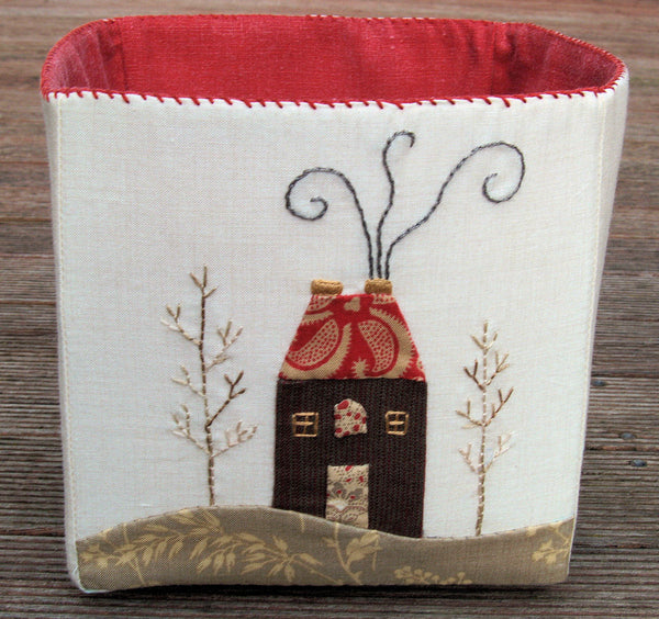 christmas fabric box pattern