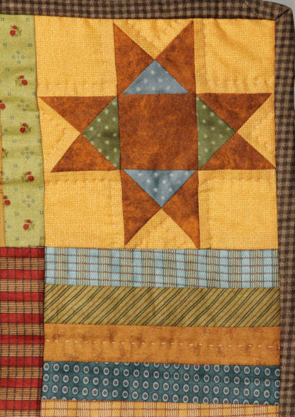 redwork block of the month quilt