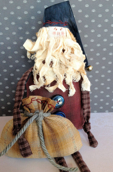 santa cloth doll