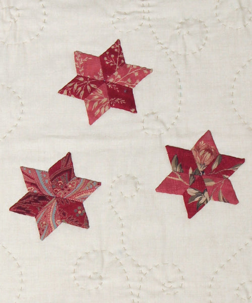 Stars in Winter Appliqued Table Runner