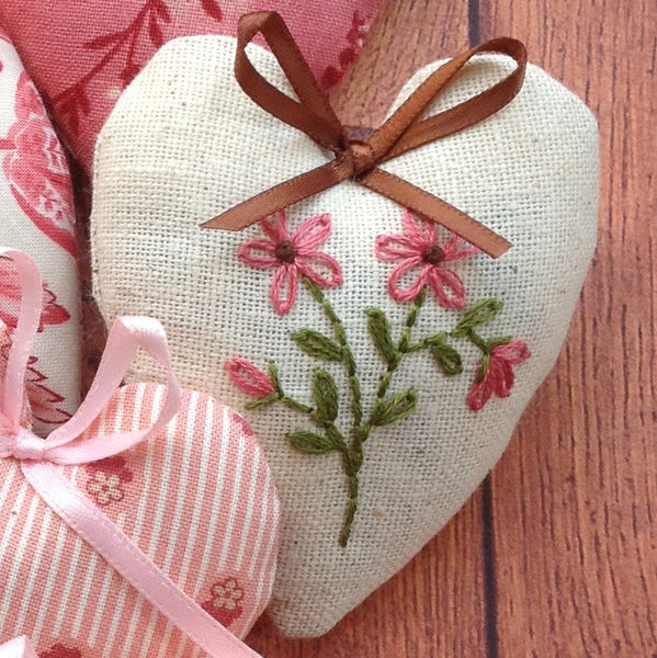 Sweet Smelling Fabric Hearts
