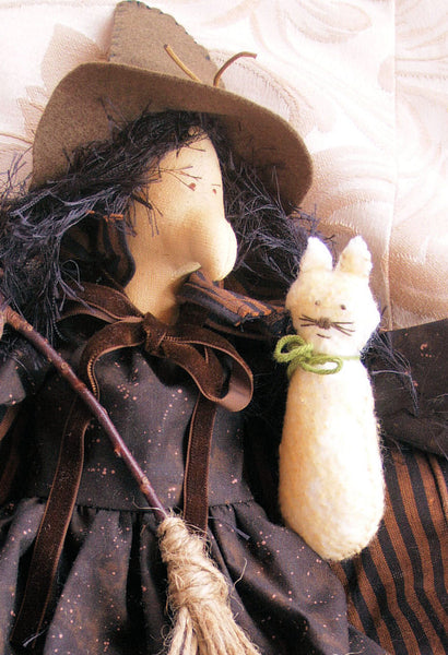 Witch Cloth Doll