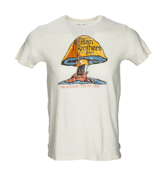 Allman Brothers T-Shirt- Ivory