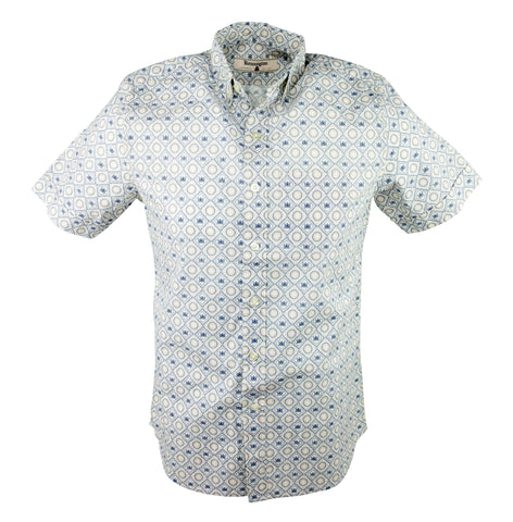 Crown And Flower Shirt - White