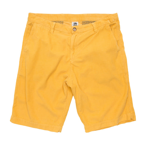 2016 Summer KenningtonLtd. Corduroy Cotton Short - Mustard Shorts