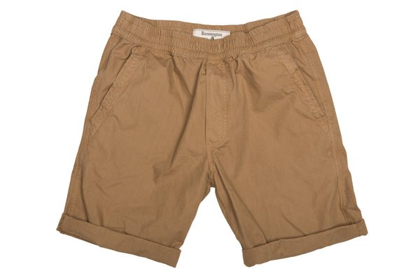 KenningtonLtd. Pull on Short - Camel Shorts