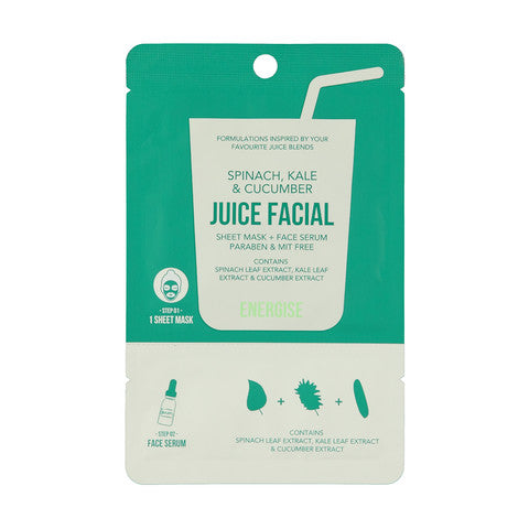 JUICE FACIAL máscarilla+serum energizante