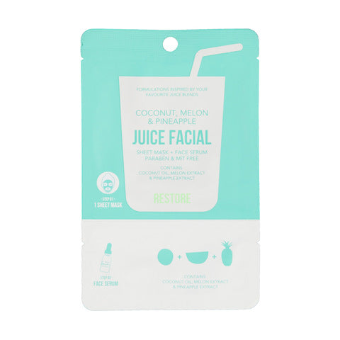 JUICE FACIAL máscarilla+serum restauración
