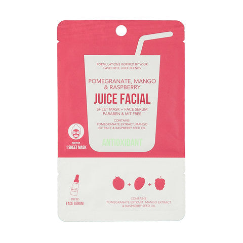 JUICE FACIAL máscarilla+serum Antioxidante
