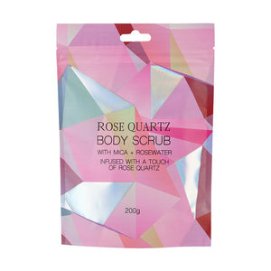 Rose Quartz exfoliante corporal 200g
