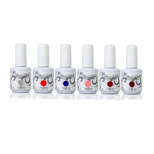 Kit 6 Esmaltes Permanentes
