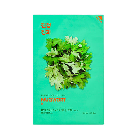 [Holika Holika] Pure Essence Mask Mugwort
