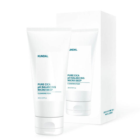 [Kundal] Pure CICA pH Balancing Cleansing Foam