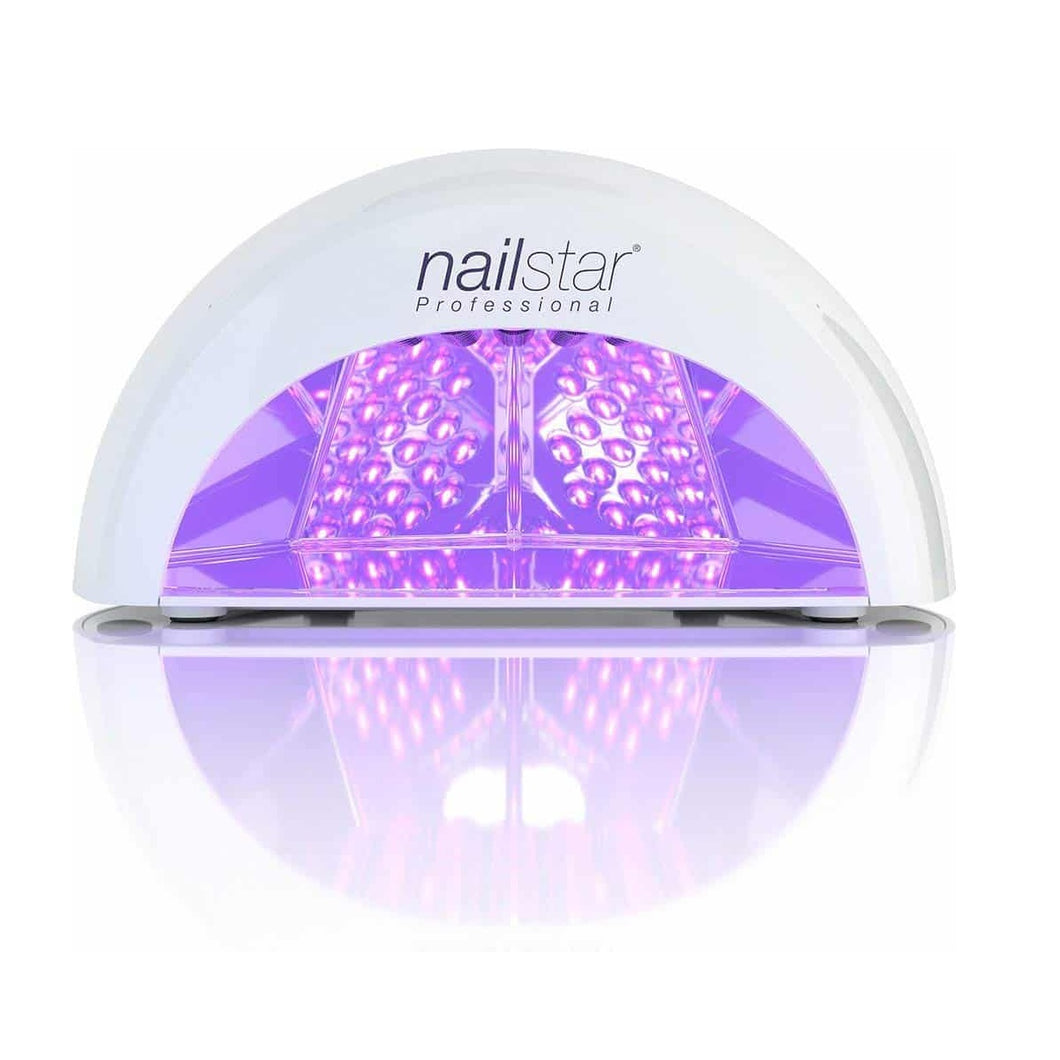 Lámpara Led/uv 48w Esmalte Permanente Secado En 30 Seg