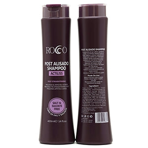 Shampoo post Alisado sin sal 400ml