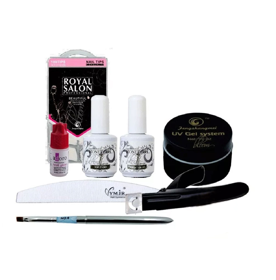 Kit Para Uñas Gel Uv Profesional